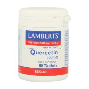 Quercetina 500 mg es un flavonoide de fuente vegetal natural