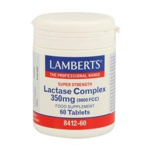 Complejo Lactasa 350 mg 9000 FCC. Enzima Digestiva en tabletas