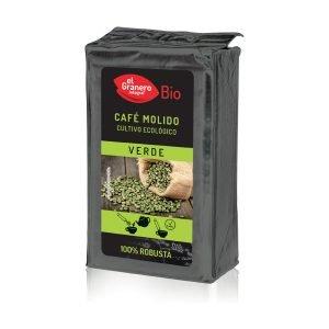Café molido Verde 100% Robusta Bio