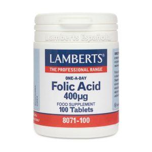 Ácido Fólico 400 mcg un apoyo durante el embarazo – Lamberts