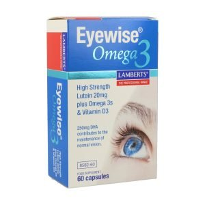 Eyewise® con Luteína, Zeaxantina mas Omega 3 y Vitamina D