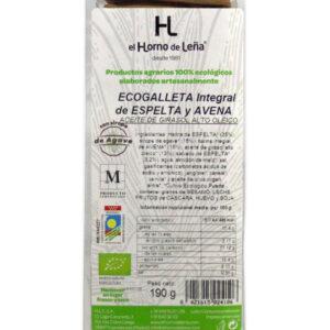 Ecogalletas de Avena y Trigo Espelta