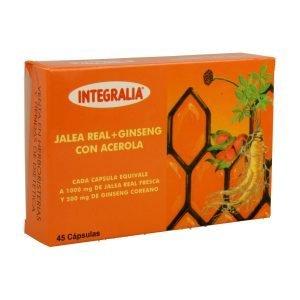 Jalea Real y Ginseng con Acerola – 45 cáps.