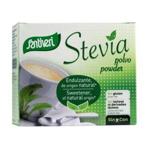 Bolsitas de polvo de stevia