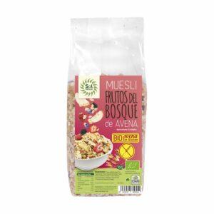 Muesli Avena con Frutas del Bosque – 425 gr.