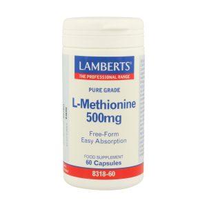 L-Metionina 500 mg. Aminoácido esencial
