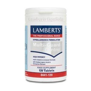 Multi-Guard® Control Un Multivitamínico con 26 nutrientes claves – Lamberts