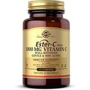 Ester-C® Plus Vitamina C 1000 mg – 30 Cápsulas vegetales – Solgar