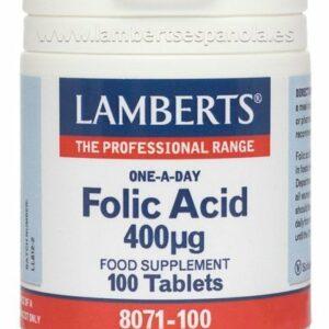 Ácido Fólico 400 mcg un apoyo durante el embarazo