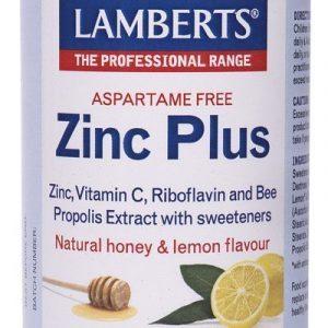 Zinc Plus con Vitamina C, Propóleo de abejas, Riboflavina y Miel