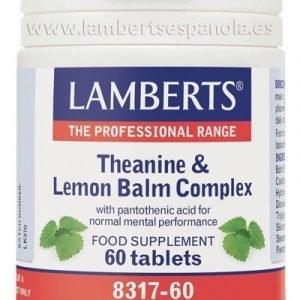 Complejo de L-Teanina 200 mg y Bálsamo de Limón 6000 mg