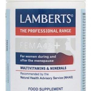 FEMA45+ un Complejo multivitamínico de ayuda en la menopausia