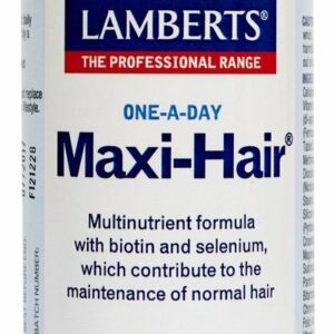 Maxi-Hair® Complejo multivitamínico con Biotina, Selenio y más