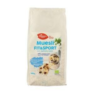 Muesli Fit&Sport con Quinoa y Coco Bio