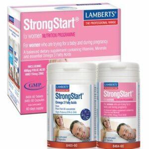 StrongStart® para Mujeres un Multivitamínico completo más Omega 3