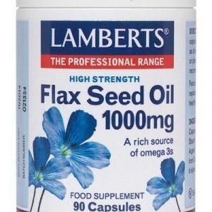 Aceite de Semillas de Lino 1000 mg rico en Omega 3
