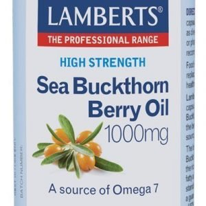 Aceite del fruto de Espino Amarillo 1000 mg rico en Omega 7