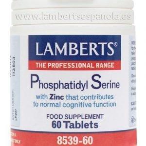 Fosfatidil Serina 100 mg de Soja NO Genéticamente Modificada