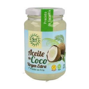 Aceite de Coco Virgen Extra Bio – 370 ml.