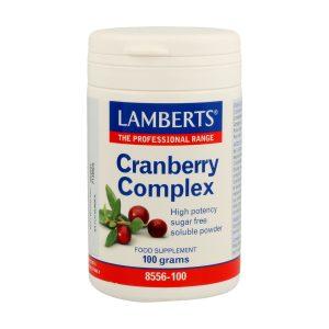 Complejo de Arándano Rojo en Polvo soluble – Lamberts