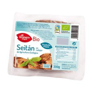 Seitán en rodajas Bio – 300 gr.