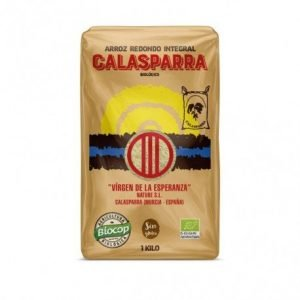 Arroz integral envase plástico Calasparra 1kg