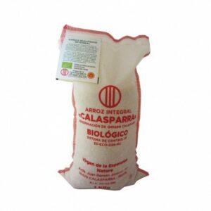 Arroz integral envase tela Calasparra 1 kg