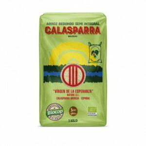 Arroz semiintegral envase plástico Calasparra 1 kg