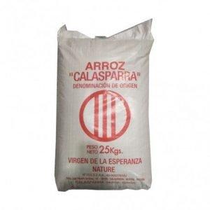 Arroz semiintegral saco Calasparra 25 kg