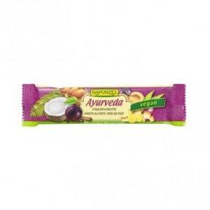 Barra de fruta Ayurveda Rapunzel 40g