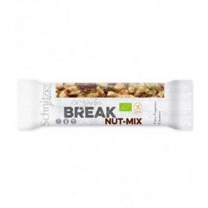 Barrita mezcla BREAK NUT-MIX sin gluten Schnitzer 40 g