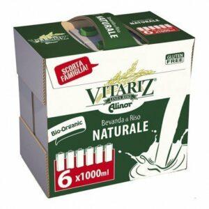 Bebida de arroz Family Pack Vitariz 6 ud. de 1 lt (2,10€ Ud.)