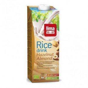 Bebida de arroz con avellana y almendra Lima 1l