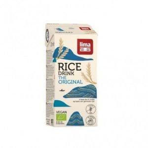 Bebida de arroz rice drink original Lima 1l