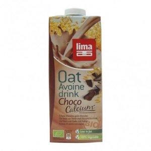 Bebida de avena con choco calcio Lima 1 lt