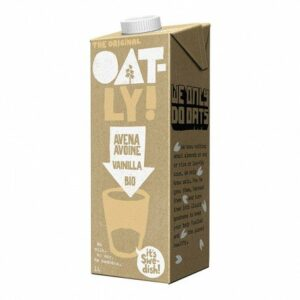 Bebida de avena con vainilla Oatly Bio 1 lt