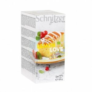 Bizcocho limón love sin gluten Schnitzer 120 g