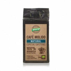 Café molido 100% Arábica Biocop 250 gr.