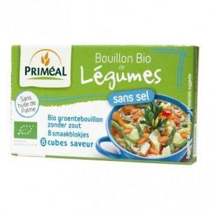 Caldo verduras legumes sin sal Priméal 8 x 9 g