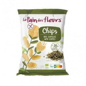 Chips de lentejas Le Pain des Fleurs 50 g
