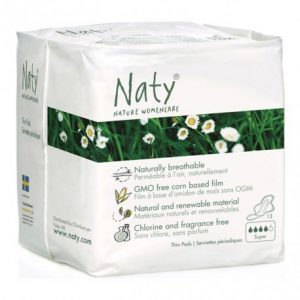 Compresas alas super Naty 13 unidades