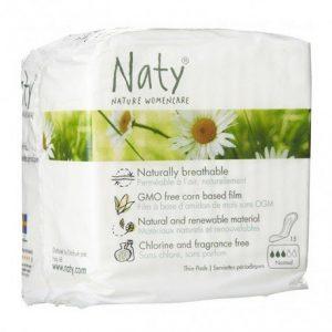 Compresas normal Naty 15 unidades