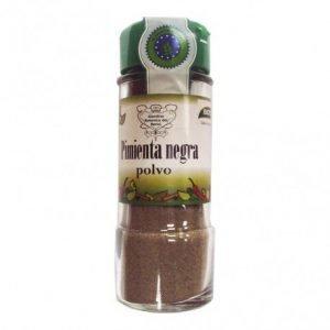 Condimento Pimienta negra polvo Biocop 40 gr.