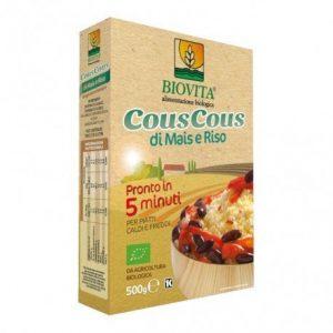Cous cous de Maíz arroz 5 minutos Biovita 500 g