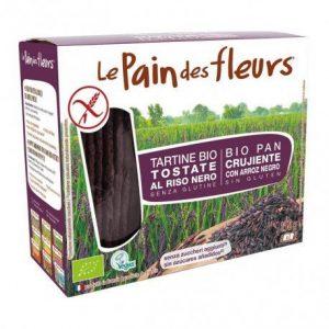 Cracker arroz negro Le Pain des Fleurs 150 g