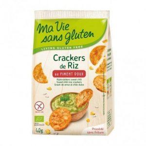 Cracker arroz pimentón Ma Vie Sans Gluten 40 g