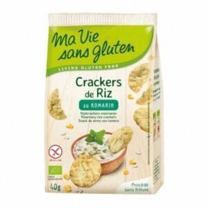 Cracker arroz romero Ma Vie Sans Gluten 40 g