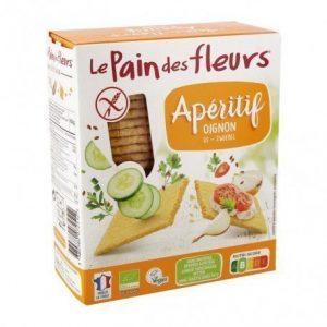 Cracker de cebolla para aperitivo Le Pain des Fleurs 150 g