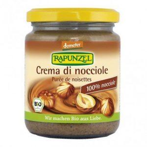 Crema de avellanas Rapunzel 250 g
