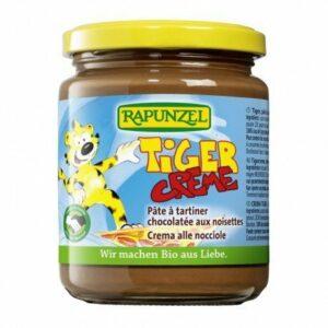 Crema de cacao con avellana Tiger Rapunzel 250 g